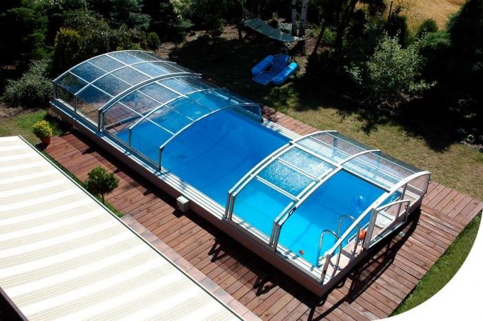 стъклено покритие за басейн 2003-3245