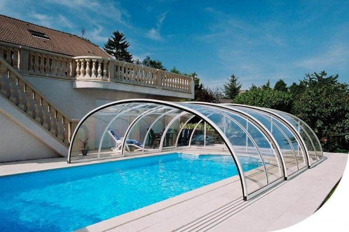 стъклено покритие за басейн 2006-3245