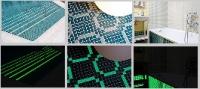 Стъклокерамична мозайка за басейни