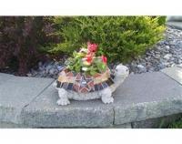 Стъклокерамична костенурка за градината