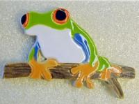 Керамична фигура жаба