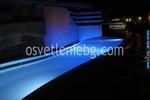 изграждане на осветление за басейни